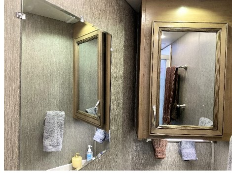 Additional Wall Mounted Mirror