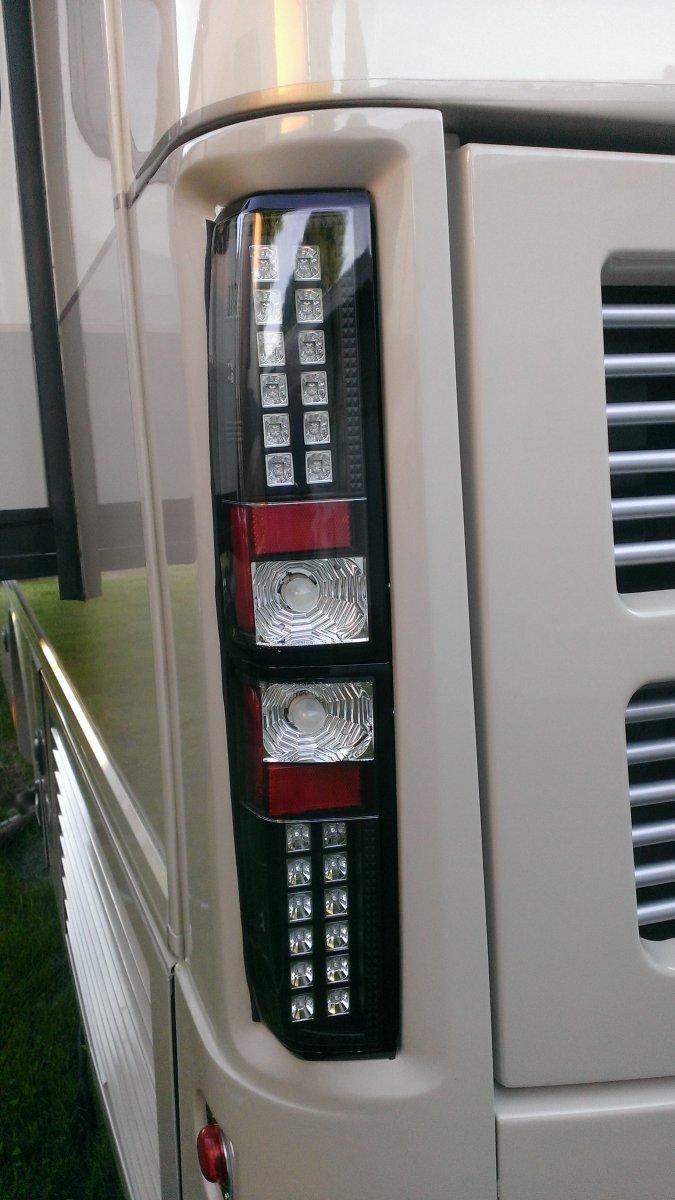 LED Lighting Installed