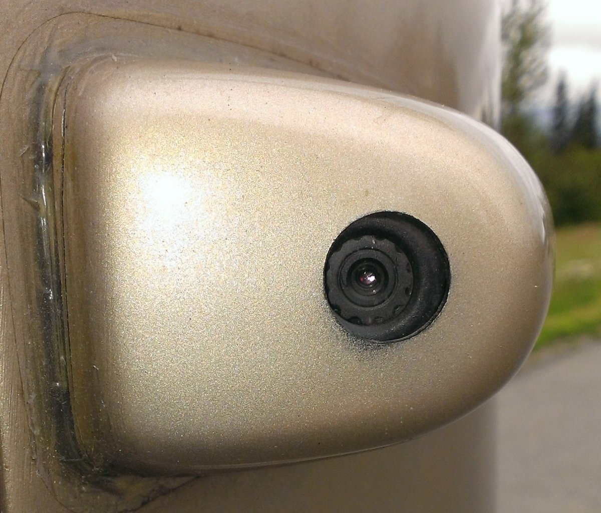 Rt Side Camera As Replaced