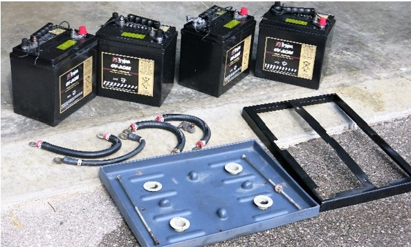 AGM Batteries in components