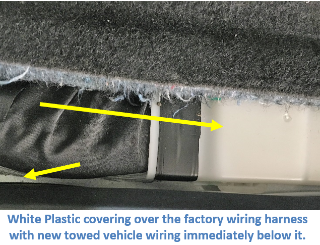 Plastic Wire Channel in Wiring Track