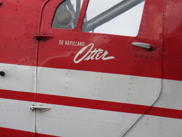 The Dehaviland Otter we flew on