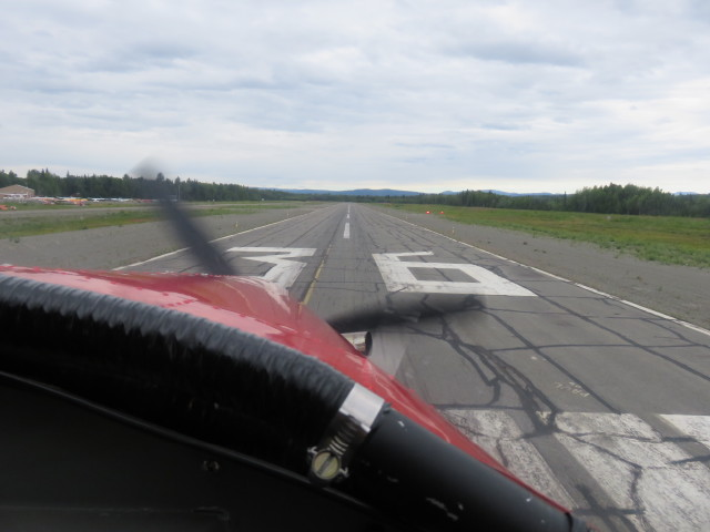 We landed at Talkeetna Airport after a fantastic flight!