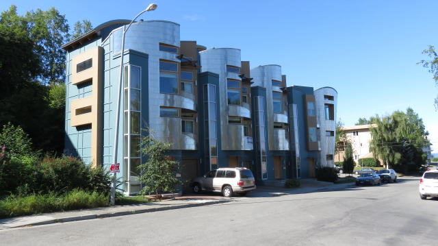 Ultra Modern Stainless Steel clad Condo