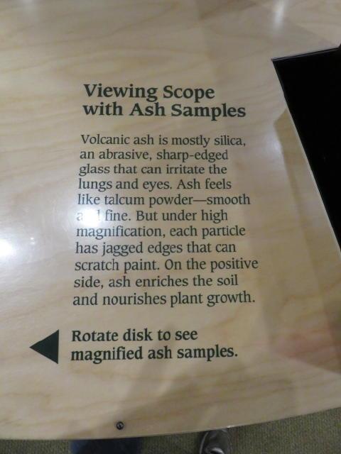 Info on Volcanic Ash samples