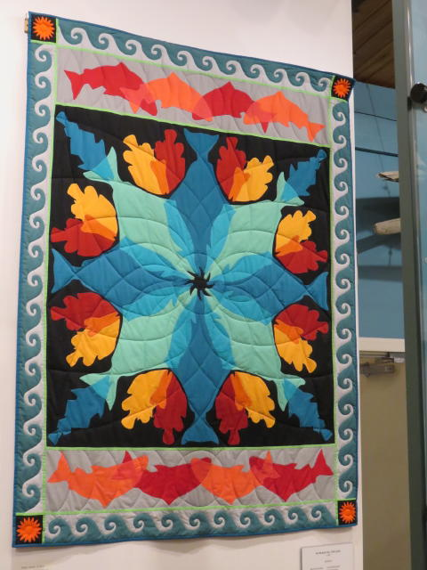 A Northern Quilt - Wildlife and bold colours
