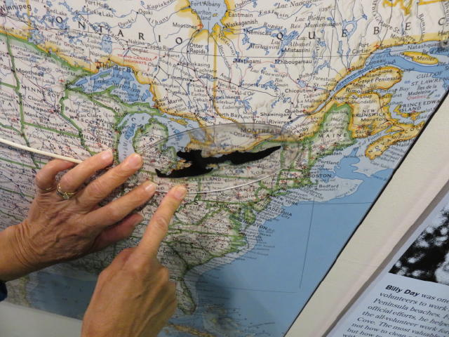 Comparing the size of the Oil Spill from the Exxon Valdez to where we live