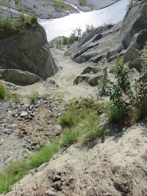 The Glacier feeding these streams