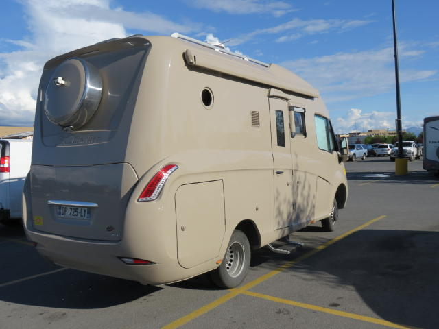 A very stylish European RV