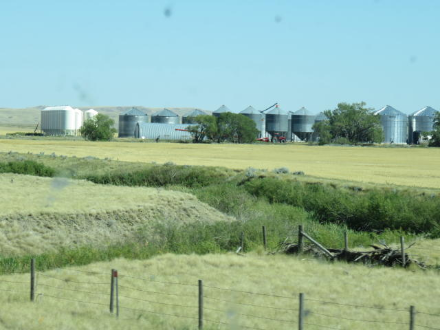 Lots of silos for storage