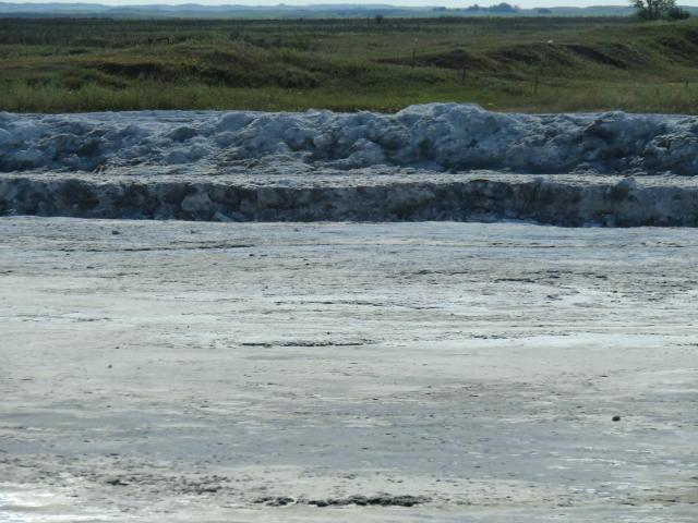 A closeup view of Potash