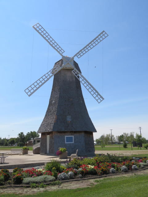 In a town called Holland, you have to have a Dutch wind mill