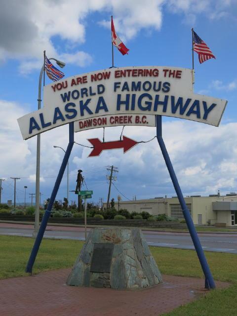 Mile '0' on Alaska Highway