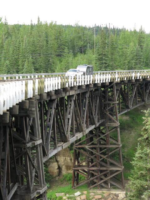 Bridge is still in use