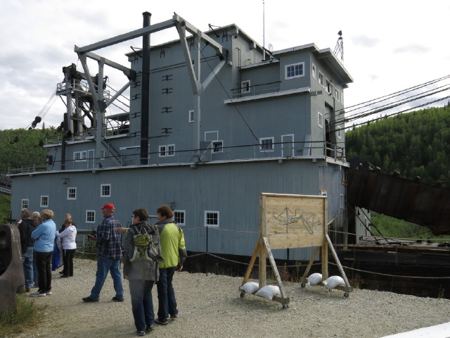 Goldmining Dredge #4