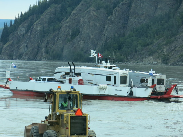 Ferry Crossing of the Yukon River