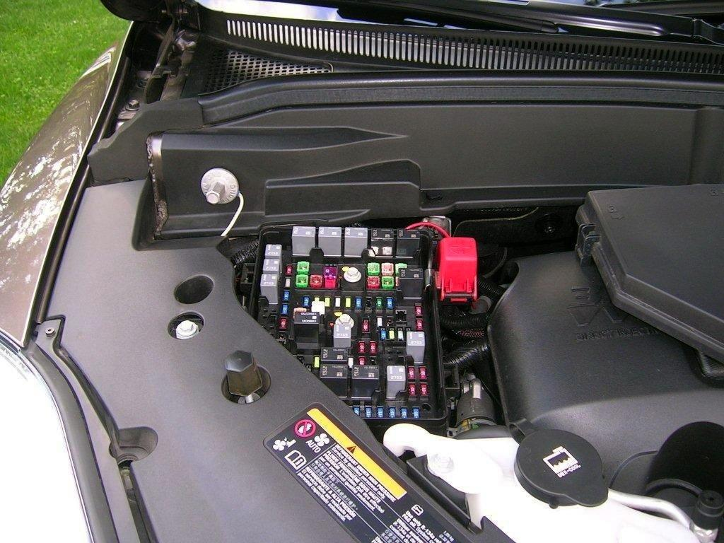 Remove the Fuse Box cover to access the fuse panel